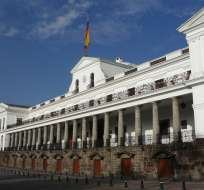 Claudia Rodríguez y Jorge Peña fueron indultados de sus penas el viernes 22 de diciembre. Foto: Archivo elciudadano.gob.ec