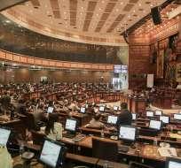 José Serrano convocó el juicio político contra Jorge Glas, el martes 26 de diciembre. Foto: Flickr Asamblea Nacional
