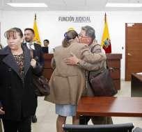 En el Complejo Judicial Norte se realizó audiencia de vinculación contra Ramiro González en el Caso de Tráfico de Influencias en el IESS. Foto: API