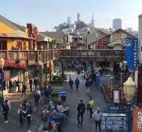 SAN FRANCISCO, EE.UU.- El sospechoso expresó a un agente encubierto del FBI que quería usar explosivos contra una multitud en el turístico Pier 39 en el muelle de San Francisco, entre el 18 y 25 de diciembre. Foto: AFP.