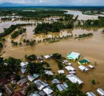 La poderosa tormenta ha dejado más de 150 muertos. Foto: Archivo AFP
