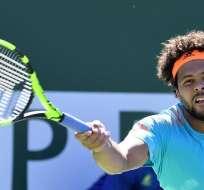 El francés Jo-Wilfried Tsonga se lesionó una muñeca y se pierde el ATP de Doha.
