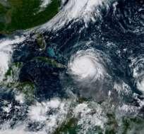 El mes de agosto y septiembre es la época del año en la que se producen más huracanes. Foto: AFP