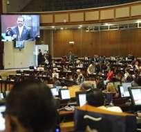 El Pleno del Legislativo tramitó el miércoles el veto presidencial a ley económica. Foto: API