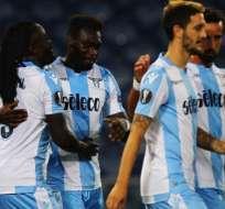 El delantero ecuatoriano Felipe Caicedo volvió a lesionarse jugando con la Lazio.