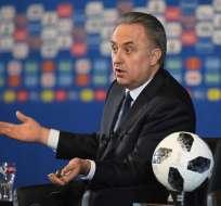 Vitali Mutko fue excluido de por vida de los Juegos Olímpicos por el Comité Olímpico Internacional (COI).