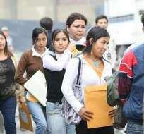 El gobierno lanzará la nueva política de empleo joven y fomento de pasantías en 2018. Foto: referencial