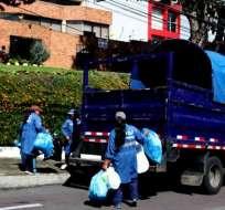 En el plan de contigencia, más de 1400 efectivos municipales trabajarán el 1 de enero en horario especial (entre la 01:00 y 20:00). Foto: Municipio Quito