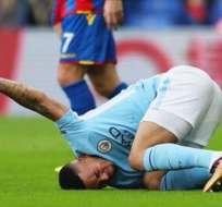 El jugador brasileño del Manchester City espera recuperarse antes del Mundial de Rusia.