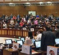 Para designación del reemplazo de Glas se requiere voto de mayoría de 137 asambleístas. Foto: Archivo Flickr Asamblea Nacional