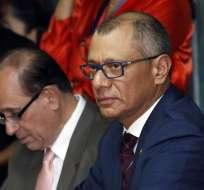 Eduardo Franco Loor insistió en que Moreno no tiene atribuciones para cesar a Glas. Foto: API Archivo