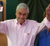 """La Casa Blanca añadió que Trump y Piñera """"discutieron el deterioro de la situación en Venezuela"""". Foto: AFP"""