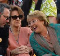 Sebastián Dávalos, hijo de Michelle Bachelet, estaba siendo investigado desde 2015. (Foto: M. Bernetti)