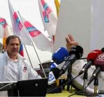 Facción de Alianza PAIS y Democracia SÍ arrancan con la campaña por la consulta. Foto: Ecuavisa