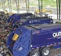 QUITO, Ecuador.- Juan Pablo Muñoz renunció a la gerencia de Emaseo. Desde el año pasado ciudadanos de la capital se quejan por la falta de recolección de basura. Foto: Emaseo