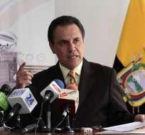 El 11 de diciembre de 2017, Ochoa fue notificado por la Contraloría con la sanción de destitución. Foto: Supercom.