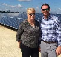 La ciudad estará alimentada por 343.000 paneles solares alineados en un terreno equivalente a cerca de 200 canchas de fútbol.