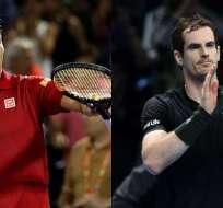 Kei Nishikori y Andy Murray están lesionados y son bajas en el primer Grand Slam del año.