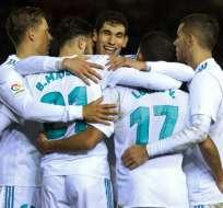 Los 'merengues' superaron 3-0 a Numancia. Foto: AFP