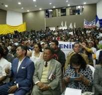 Movimiento Frente Amplio Progresista que agrupa a más de 100 organizaciones inicia campaña por el Sí. Foto: API