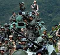 Washington sancionó a 4 funcionarios venezolanos, todos militares activos o retirados. Foto: Archivo AFP