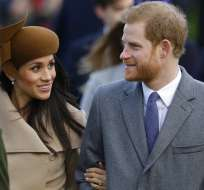 Londres, REINO UNIDO.- El príncipe Enrique y Meghan Markle se casarán en el Castillo de Windsor. Foto: AP.