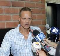 Esteban Paz mantuvo un cruce de mensajes en redes sociales con Abdalá Bucaram Pulley.