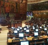 Asambleístas se ratifican en censurar actuación de Jorge Glas. Foto: Archivo
