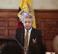 """Mandatario dijo que con elección se cierra """"momento difícil"""" para el Ecuador. Foto: Flickr Presidencia"""