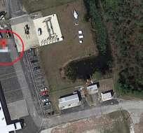 """Aplicación localiza instalaciones de empresa aeronáutica """"Pratt and Whitney"""". Foto: Captura"""