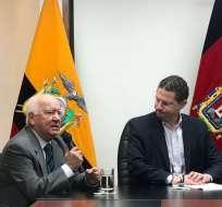 Juan Neira es el nuevo gerente de la Empresa Metropolitana de Aseo (Emaseo). Foto: Twitter Emaseo Quito