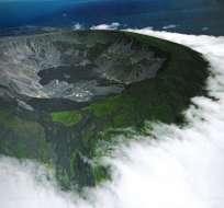 Los sismos en las inmediaciones del volcán Sierra Negra iniciaron el 6 de enero de 2018. Foto: Archivo