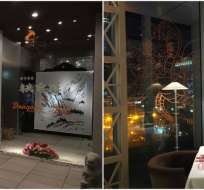 El restaurante presenta comidas y temáticas de la popular serie de Akira Toriyama. Foto: @Kotaku