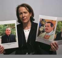 """Anne Barrett Doyle, codirectora de BishopAccountability.org, describió el sitio en rueda de prensa como """"el mayor archivo público disponible, sólo comparable con los archivos privados de la Iglesia"""". Foto: AP"""