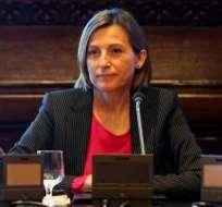 CATALUÑA, España.- La presidenta del parlamento catalán tiene abierto procesos judiciales en su contra. Foto: larazón.es