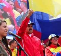 """Venezuela.- El objetivo es alcanzar una solución """"estable, pacífica y democrática"""". Foto: Ecuavisa/Archivo"""