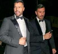 Ricky Martin se casó con su pareja, Jwan Yosef. Foto: Instagram