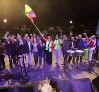 Alianza PAIS escogió al sector de Carapungo en el norte de Quito para impulsar el Sí en la consulta popular. Foto: @marialevicuna