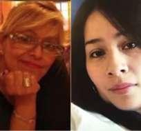 Los deudos de Triviño y Guzmán decidieron sepultarlas en EE.UU. Foto: Collage.