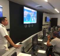 Inocar monitoreó la situación en las costas ecuatorianas tras fuerte sismo producido en Perú. Foto: Referencial/Twitter: Inocar.