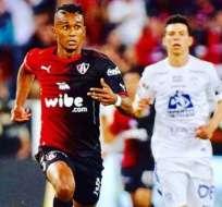 El delantero nacional jugó en cuatro equipos de la Liga MX. Foto: Tomada de la cuenta Instagram @fidel11_10