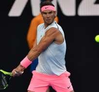 El tenista español Rafael Nadal se medirá en la siguiente ronda a Leo Mayer.