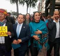 La decisión ocurre luego de que Rafael Correa se desafiliara en la mañana.  Foto: API