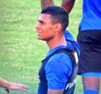 Estéfano Arango marcó su primer gol con la camiseta de Emelec en el amistoso ante Montevideo Wanderers.