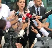 """""""Esta resolución atenta contra la seguridad jurídica y la confianza que se necesita en el país para que venga la inversión"""", dijo Costa. Foto: Twitter"""