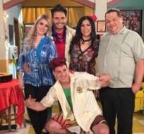 Los personajes de El Combo Amarillo se reencontraron en el programa En Contacto