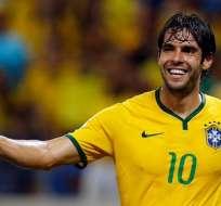 Kaká será el invitado de Barcelona para la Noche Amarilla en el Monumental.