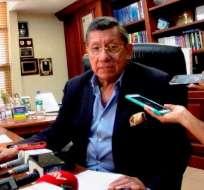 Carlos Villacís espero que en un mes ya se pueda conocer el nombre del nuevo DT de Ecuador.