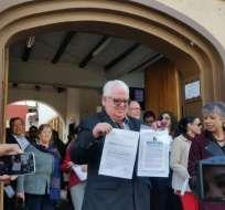 El exasambleísta, fernando cordero, lideró el grupo disidente. Foto: Twitter