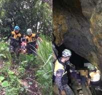 La mina estuvo suspendida por ARCOM por ubicarse dentro de una zona de exclusión. Foto: Policía Nacional